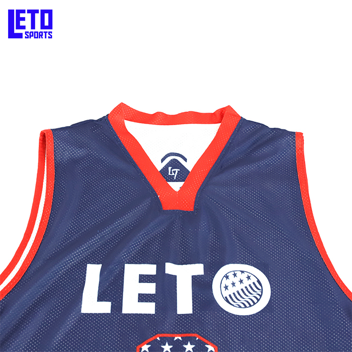 Reversible Basketball Set Uniforms kits Sports clothes Double-side basketball jerseys
