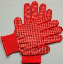 PVC Dotted gloves medical latex
