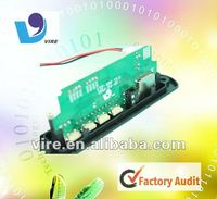 Reliable sd memory card reader speaker circuit board