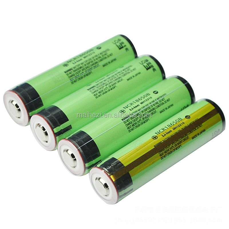 MaHero 18650 PROTECTED 3.7V 3400mAh Rechargeable Li-ion Batteries Positive Protection Flashlights