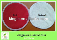 red color breast pad, free sample milk pads,bamboo milk pad
