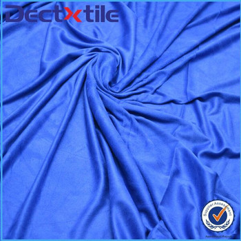 100% polyester fabric rayon fabric suede cheap fabric with high quality