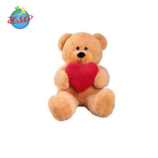 Customized Valentine Day Gifts Soft Plush Giant Teddy Bear With Heart