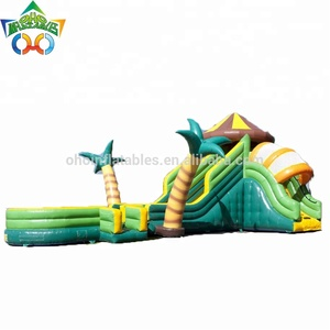 Happy hop inflatable bouncer for kids for backyard