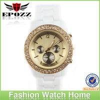 Jelly silicone band watches mk style 2013 watches ladies