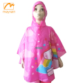 Wholesale Custom Printed Raincoat Rain Poncho