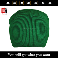 Customize high quality design you own 100% cotton winter beanie hat
