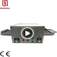 High Quality Small Forno Industrial Temperature Controller Rotating Conveyor Electric Commercial Pizza Oven