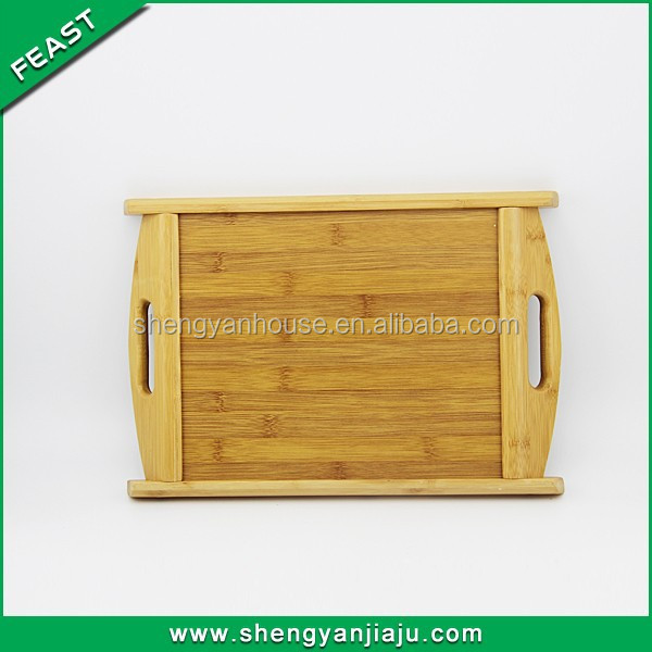 China supplier cheap bamboo service party tray