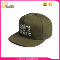 China Popular 5 Panel Adjust Snapback Hats
