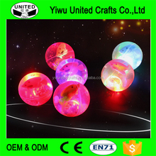 OEM Bouncy Ball With Led Light Flashing Ball Bouncing Ball Toy For Kids