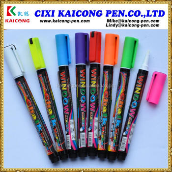 iPOSCA Water-based Liquid Chalk Marker and Window Marker or black board marker glass baord marker