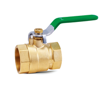 1 Inch Factory Price Handle Thread Brass Ball Valve