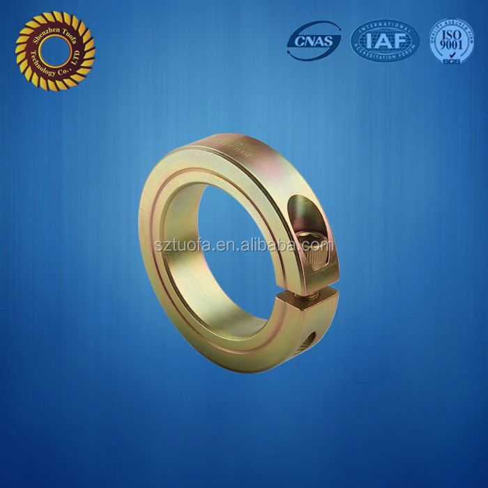 brass locking ring, custom cnc precision parts