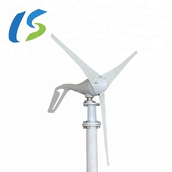400w China Factory  Small Home Wind Turbine Off Grid Wind Electric Generator System