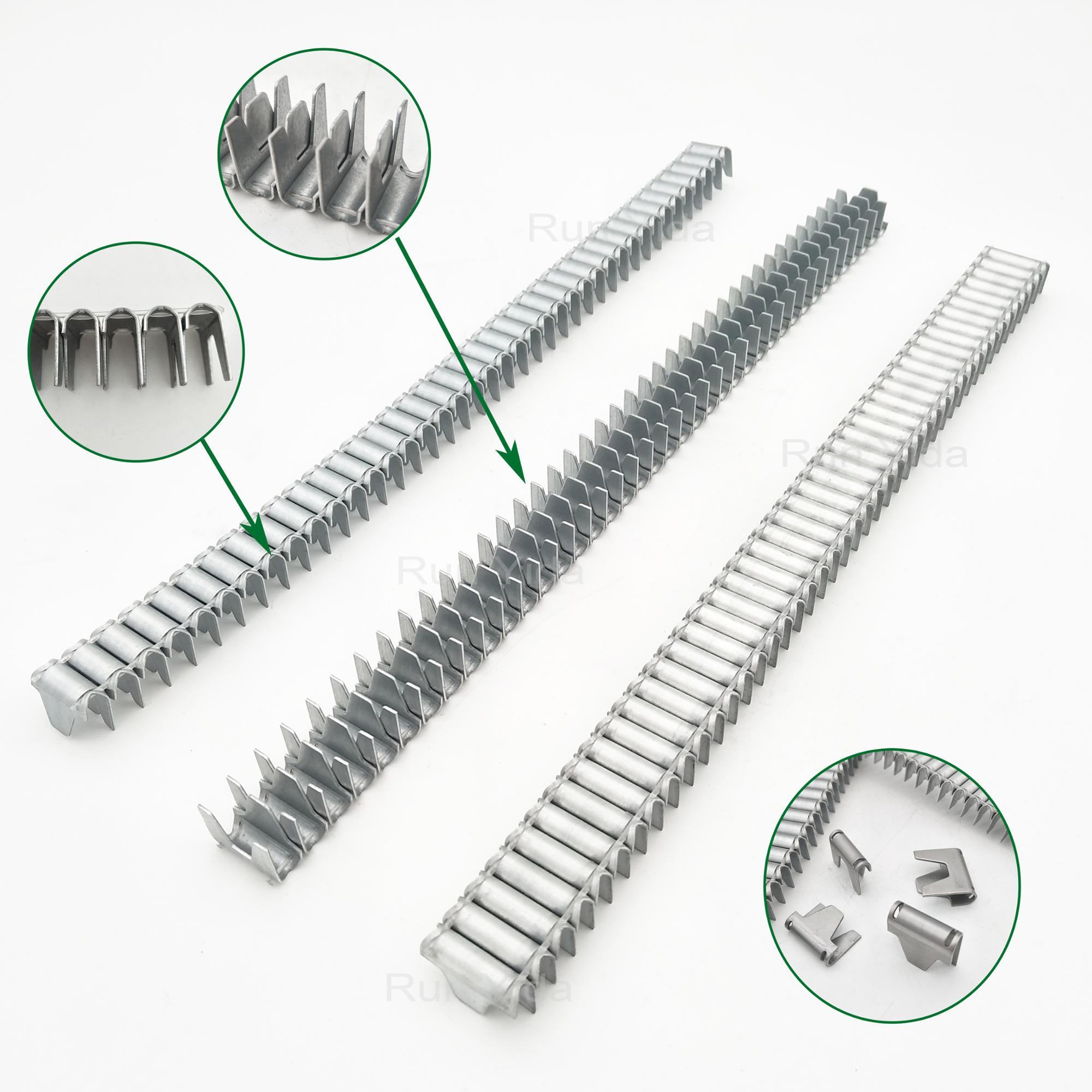 M65CL-73 Attache clip en métal bande pour meubles canapé