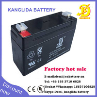 4v rechargeable storage battery in China 2ah Kanglida wholesale
