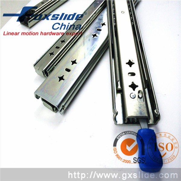 China Supplier Furniture Accessories Stainless <strong>Steel</strong> Telescopic Slide
