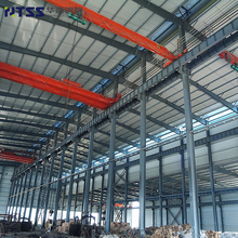 ISO9001 Industrial galvanized cheap steel frame structure canopy