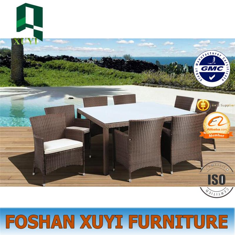 Romantic luxury use rattan garden outdoor furnitu
