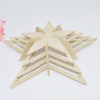 3D Puzzle star in Toywins Model wood Kit