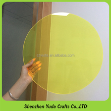 acryl plexiglass round disc, custom acrylic disk acrylic lasers cut in China