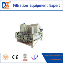 Stainless Steel sludge dewatering belt filter press cost