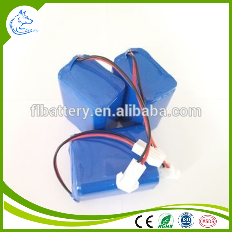 18650 4.4Ah 11.1V Li-ion battery rechargeable type, Li-ion battery pack manufacturer