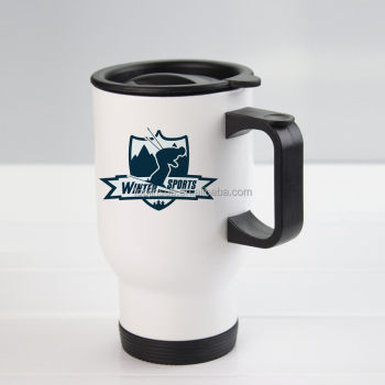 sublimation 3D auto mug plastic materials white mugs