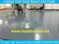 CHINA TOP FIVE EPOXY-Maydos Stone Hard Solvent Base Car Parking Epoxy Flooring Resin Paint