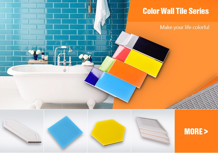 Pure color ceramic tile glossy wall tile floor tile