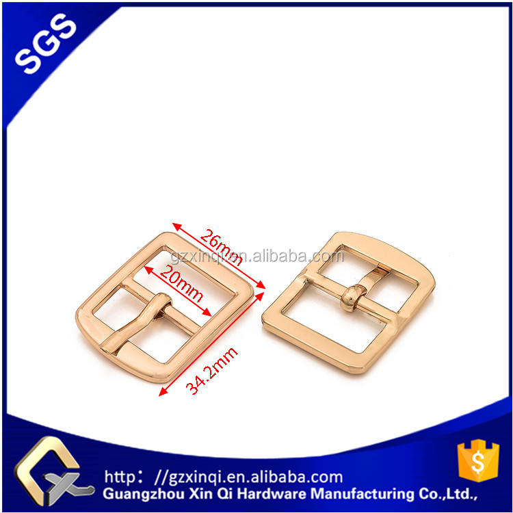 Factory price belt buckle metal bag accessories for handbag hardware