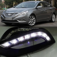 Day Lights Positioning Lamp DRL LED Kit Fog Lamp for Hyundai Sonata 2011 2012