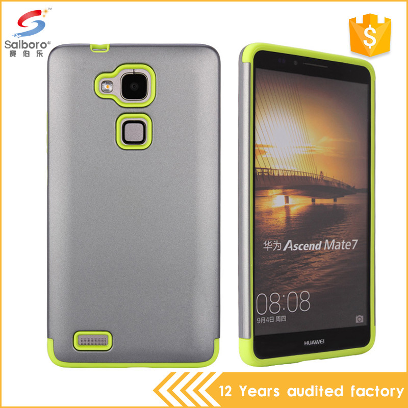 Promotions 2in1 tpu pc smart cover case for huawei ascend mate 7
