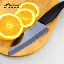Glable Black Mirror Zirconia Ceramic Cutlery Magic Chef Cutter Knife Tools
