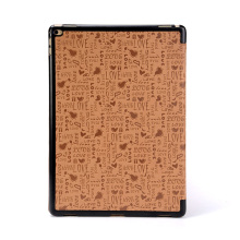 Wholesale PU knurling Wallet Smart Cover Case for iPad mini 4