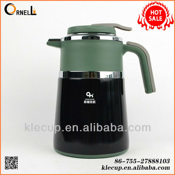 stainless steel inner plastic outer insulated coffee pot antique arabic coffee pot
