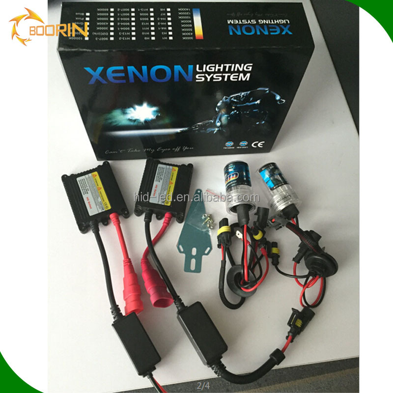 Car light HID XENON light kit AC DC 12V 24V CANBUS 35w 55W H1H3 H4 H7 H11 H13 9004 9005HB3 9006 HID xenon bulb xenon kit