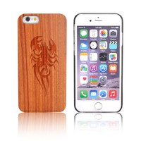 Best Quality Rose Wood Phone Case Cell