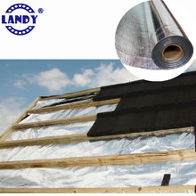 Industrial insulation 0.2mm thickness/thicknes insulated aluminum foil faced non woven roll