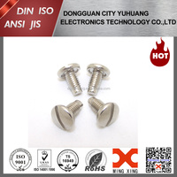 Truss head slot dog point screw