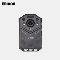 Unicon Vision 32GB 64GB IP67 Wireless Wide Angle 140 Degree Wifi 4G GPS Police Body Worn Camera