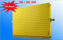 900 1800 2100 mhz Mobile Signal Booster GSM Tri Band Booster