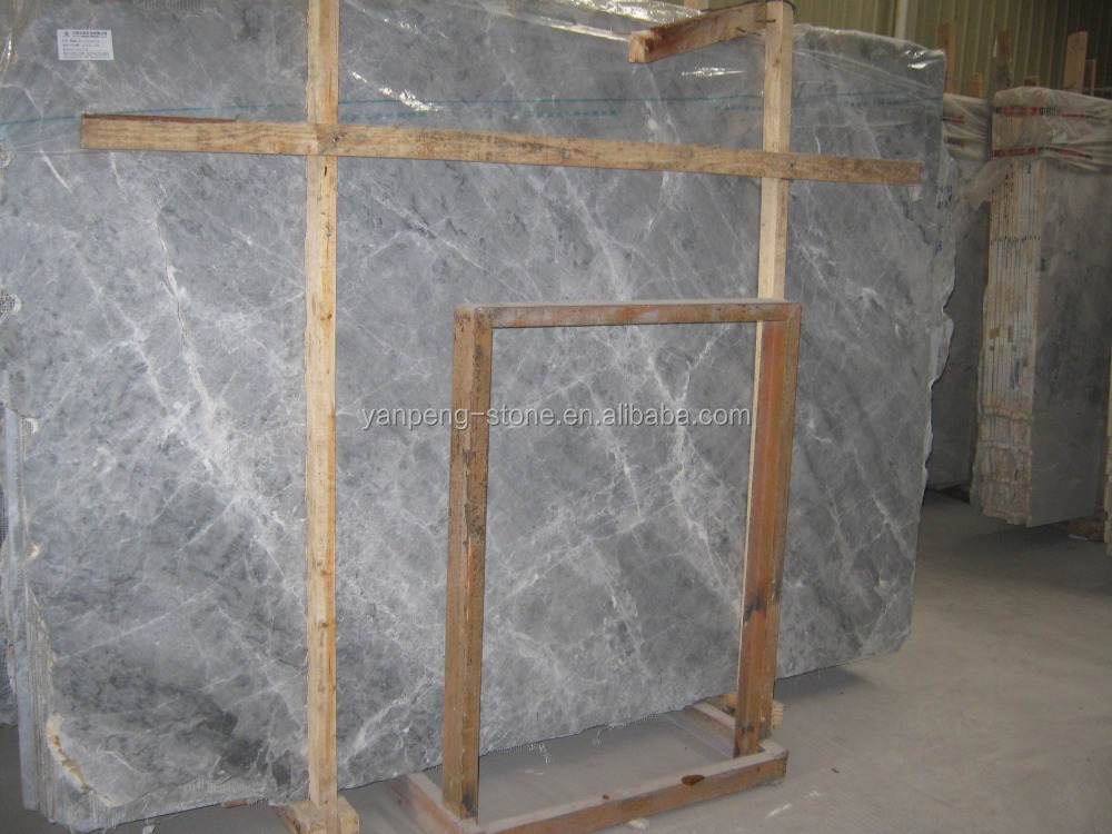 Silver Ermine Marble Tile & Slab,Aleutian Mink Marble Dark Grey Marble Polished China Grey Marble
