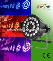Brightness RGBW 4in1 Quad Color Mixing LED PAR64 24*10W bar DJ parcan indoor lights dj backdrop