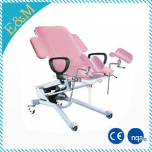 hospital electric multi-function labor and delivery beds/obstetric table/gynecology birthing bed