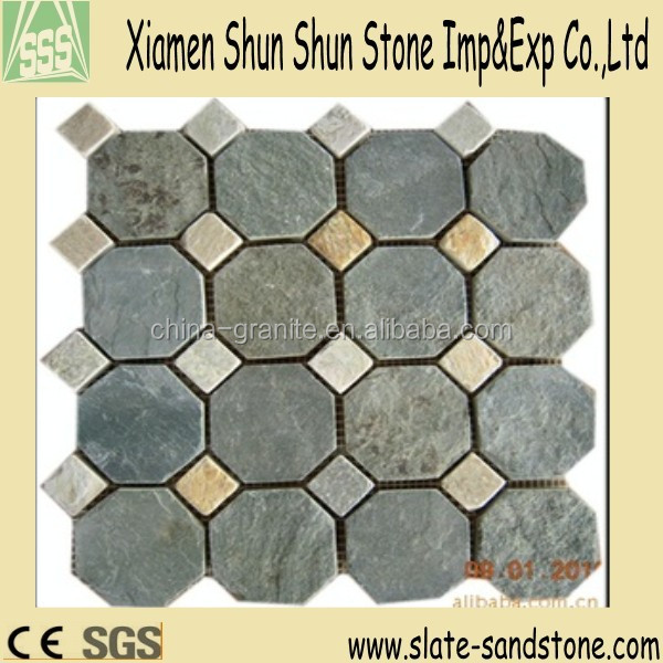 Natural paving stone mosaic for sale