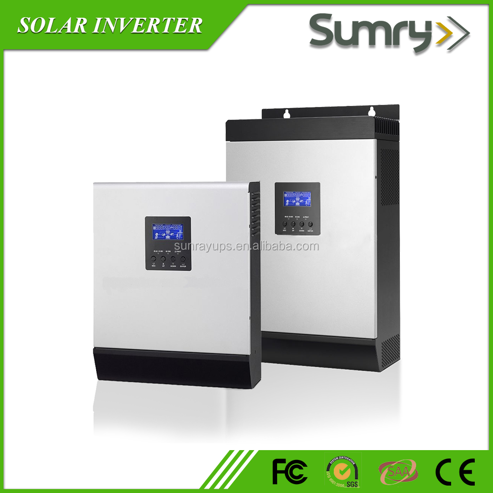 Inverters and Converter High frequency 3kva solar inverter with mppt controller for home solar system