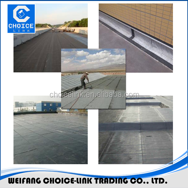 SBS asphalt bituminous applied waterproof roofing membrane/felt