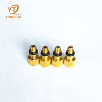 Low price guaranteed quality yellow copper tire valve
